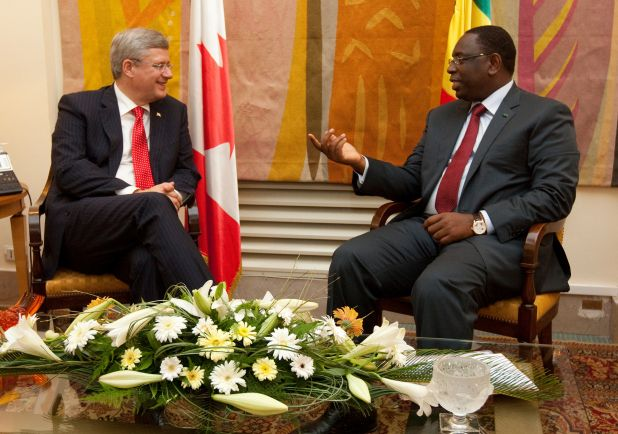 Greeted by President Macky Sall at the Presidential Palace .jpg