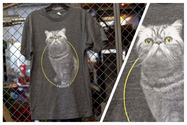 Jakprints Product Of The Day 371262 Smoosh The Cat T-Shirts 11.16.12.jpg