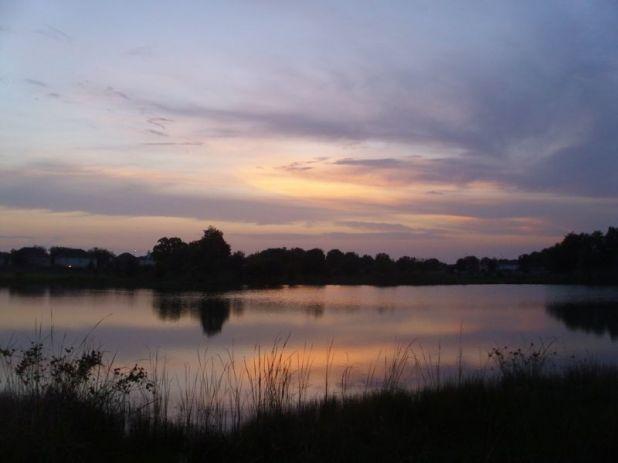 Evening at Ridge Creek Lake small.jpg