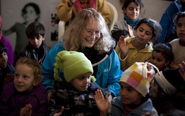 Mia Farrow visits Syrian refugees in Lebanon - copyright UNICEF-NYHQ2013-0010-Ramoneda.jpg