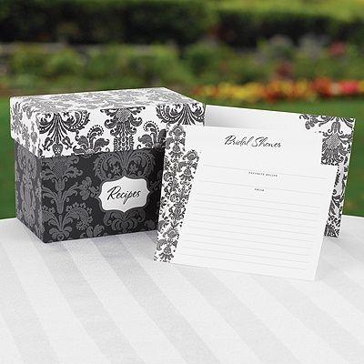 Carlson Craft Bridal Shower Recipe Box Damask.jpg