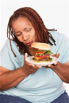 black woman fast food100098998.png