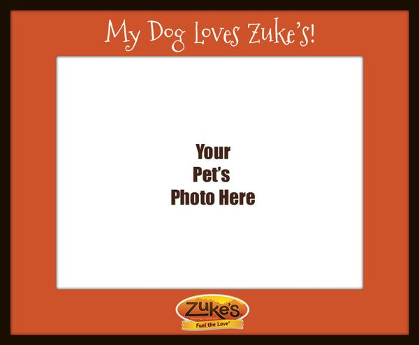 my-dog-loves-zukes Photo Frame.jpg