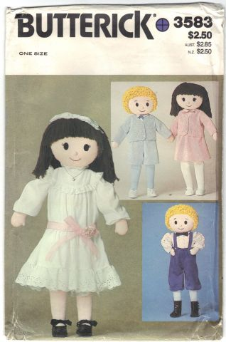 Butterick 3583 One Size Dolls Scanned 3-8-2014  Front.jpg