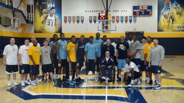 Coach Raymonds and MU 2010 Team 2.jpg