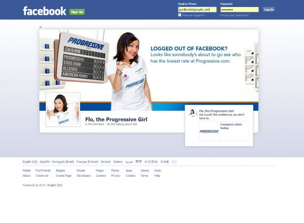 Facebook Progressive log in ad 32314.jpg