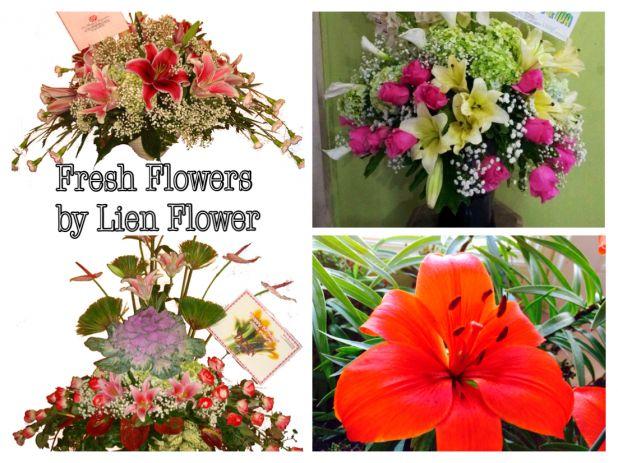 Fresh Flowers arrangements by Lien Flower.jpg