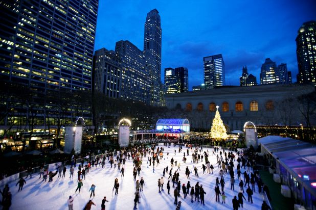 The Pond and Holiday Shops at Bryant Park - Photoshop Small.jpg