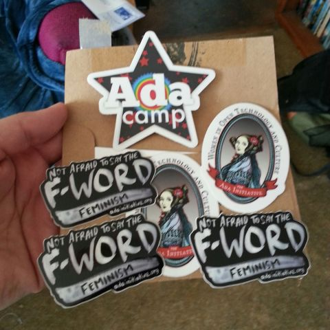 Ada Initiative stickers!