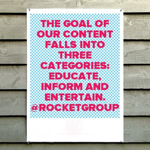 The Goal of Our Content is To Educate Inform Entertain The Rocket Group.jpg