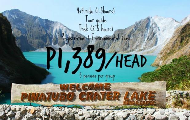 group tour package enjoy ka dito Tarlac Mount Pinatubo Trek Capas poster 2.jpg