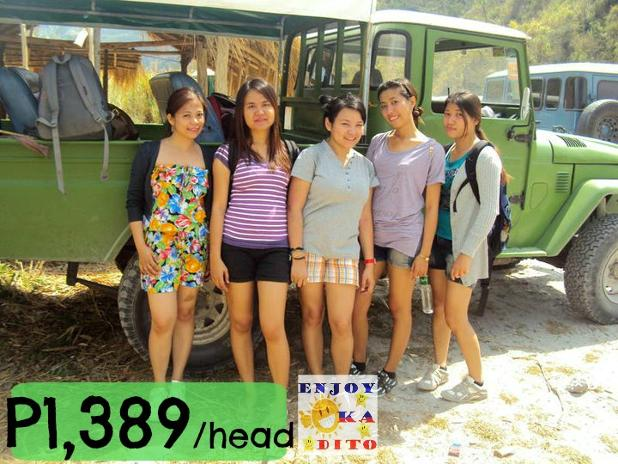 tour package enjoy ka dito Tarlac Mount Pinatubo Trek Capas 1.jpg