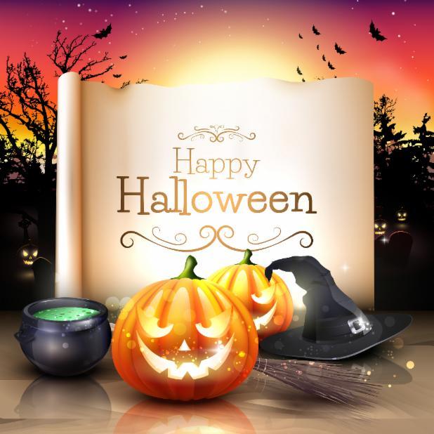 wall_paper_halloween_orange_bloom_colorful_paper.jpg