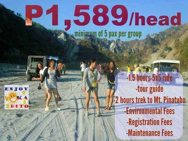 group tour package enjoy ka dito Tarlac Mount Pinatubo Trek Capas poster 4.jpg