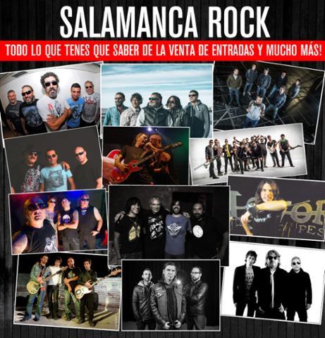 <strong>Salamanca Rock: Entradas.</strong> <br> 01-02-2015 - Precios y Puntos de Venta.
