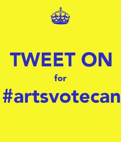 TWEET ON for #artsvotecan  .jpg