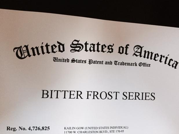 Bitter Frost Series Registered as Trademark.jpg