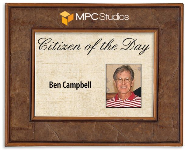 citizen of the day ben campbell
