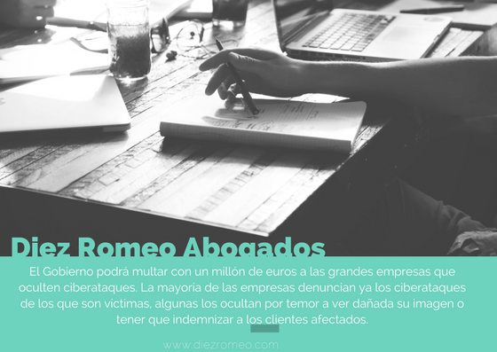 Diez Romeo_multas a empresas que oculten ciberataques.png