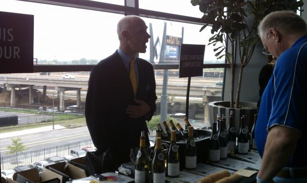 Bob Trimble (The Wine Guy) representing Louis Latour