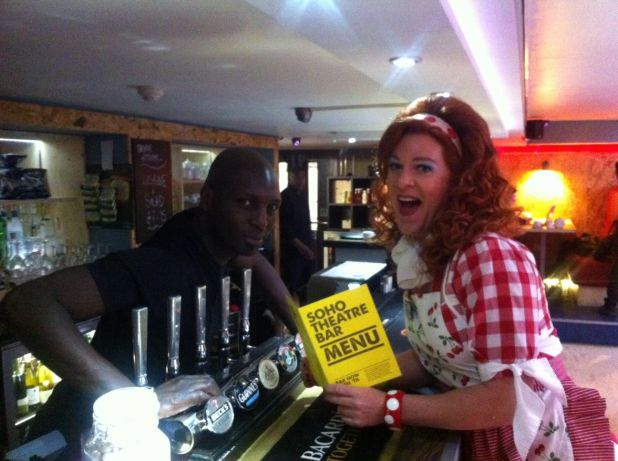 Dixie at the Soho Theatre Bar.jpg
