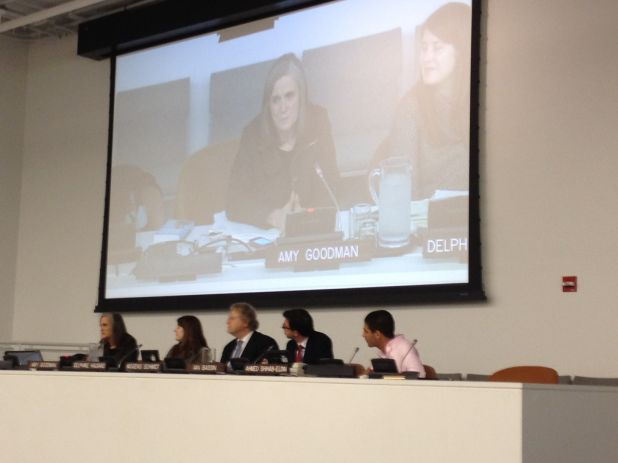 Amy Goodman Speaks at UN World Press Freedom Day.jpg