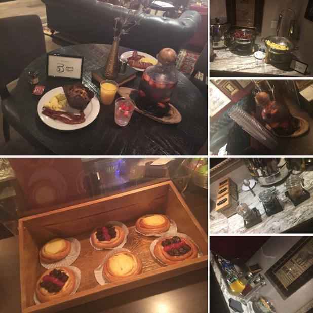Breakfast in Library Lounge.JPG