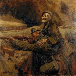_Soldat und Tod (Soldier and Death) Hans Larwin 1917.jpg