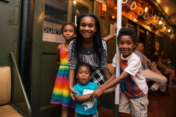 Family at the Transit Museum 2.jpg