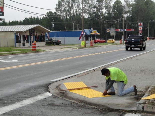 As part of US 17 resurfacing in south Putnam County, ADA ramps are being added.jpg