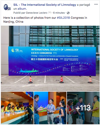 SIL   The International Society of Limnology   Accueil.png