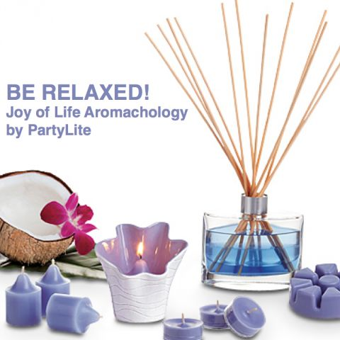 PartyLite fragrance Be Relaxed!.png