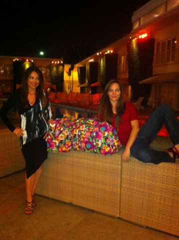 Lilly Melgar and Jade Harlow from #DaytimeEmmy Nominated @TheBaytheSeries with their @verabradley ba.jpg