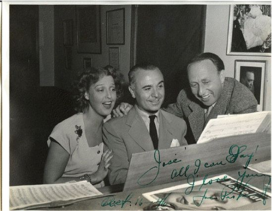 Jeanette macDonald, Jose Iturbi, and Joe Pasternak.jpg