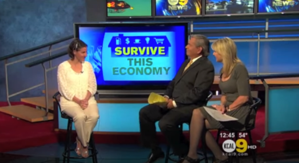 Survive this Economy CBS TV Interview.PNG