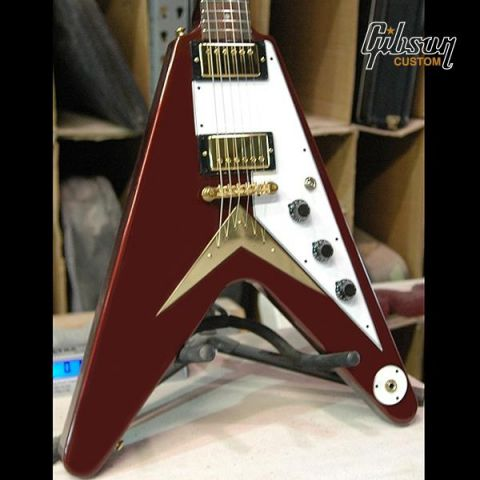 Flying V Mahogany in Candy Apple Burgundy.jpg