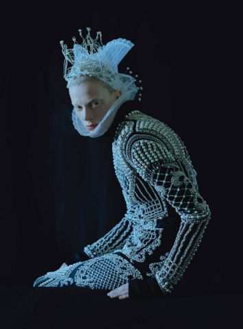 W Magazine, September 2012, Dame of Thrones, Styled by Jacob K, Ph Tim Walker Model Kristen McMenamy.jpg