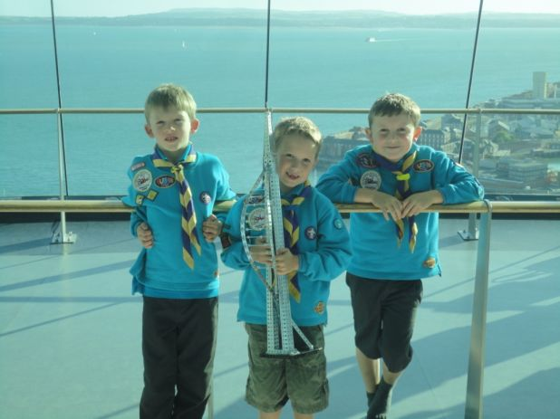 Scouts Meccano Model - Friends in High Places low res.jpg