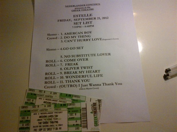 Estelle set list.jpg