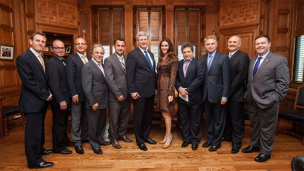 Nazanin and prime minister harper sept 2012.jpg