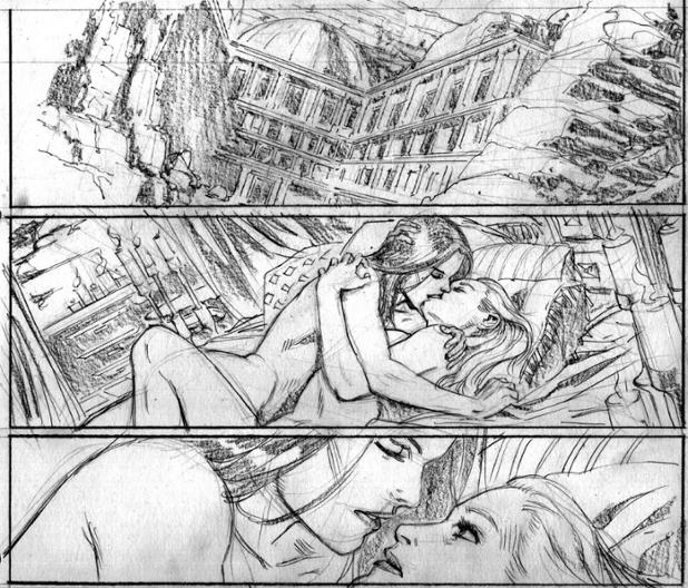 Arrow Season 2.5 - Chapter 23 - pg. 3 (Pencils).jpg