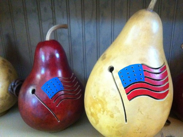 Meadowbrooke Gourds Patriotic Gourds