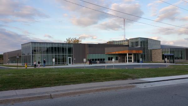 Jack Burger Sports Complex Exterior Curtain WAll Aluminum windows & doors.jpg