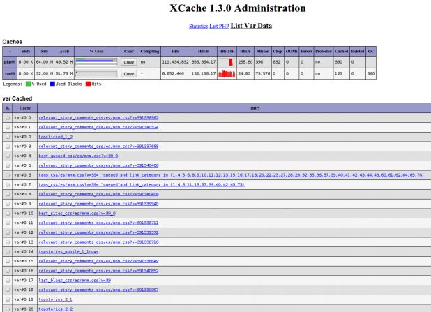 XCache 1.3.0 Administration.png