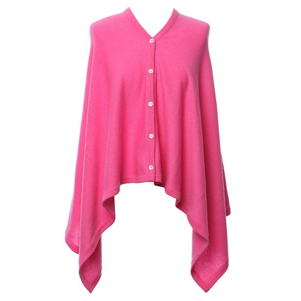 Pink Magenta Cashmere Wrap front button.jpg