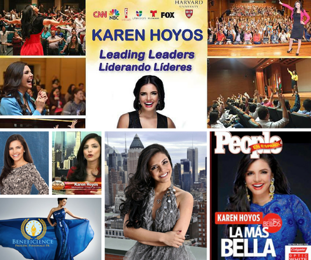 Karen Hoyos - Global Transformational Leader Celebrity Coach - Speaker & Author at Beneficience PR - Graphic Image eDesigned By Tracey Bond