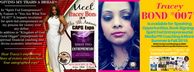 Meet Amazon Bestselling Book Author Tracey Bond at Chicago Book Signing Saturday June 18th, 2016 - More at TraceyBond007.com.png