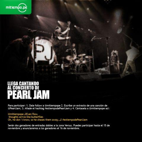 LLega cantando al concierto de  @PearlJam.jpg