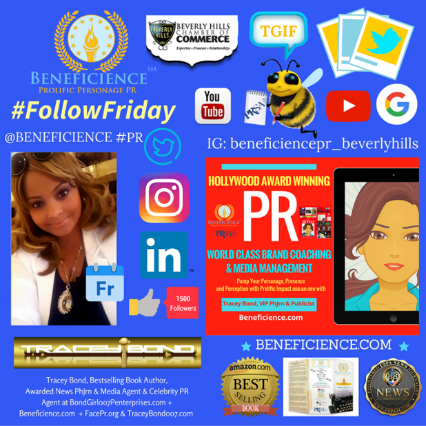 Tracey Bond is shouting TGIF on #FollowFriday Lets Connect and share the Friday festivities wherever you connect social @tracey007bond @Bene