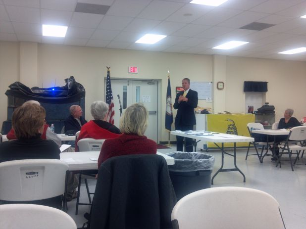 Tim spks to 99th Dist. Tea Prty tonight in Lively, Va.jpg
